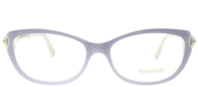 Tom Ford FT 4286 020 Cat-Eye Plastic Purple Eyeglasses with Demo Lens