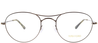 Tom Ford FT 5331 036 Round Metal Bronze Eyeglasses with Demo Lens