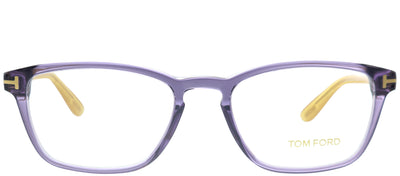 Tom Ford FT 5355 089 Rectangle Plastic Purple Eyeglasses with Demo Lens