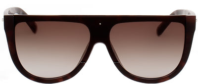 Privé Revaux The Coco Oversized Plastic Grey Sunglasses with Brown Gradient Polarized Lens