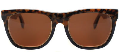 Super Classic L86 Fashion Plastic Brown Sunglasses with Brown Lens