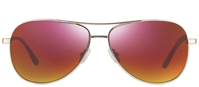 Revo RE 1014 04 SP Aviator Metal Gold Sunglasses with Spectra Polarized Lens