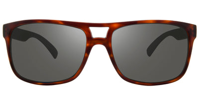 Revo RE 1019 02 GY Square Plastic Tortoise/ Havana Sunglasses with Graphite Polarized Lens