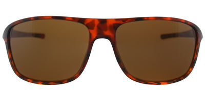 TAG Heuer TAG 6041 210 Rectangle Plastic Tortoise/ Havana Sunglasses with Brown Polarized Lens