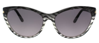Pucci EP 715S 006 Cat-Eye Plastic Black Sunglasses with Grey Gradient Lens