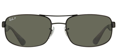 Ray-Ban RB 3445 006/P2 Sport Metal Grey Sunglasses with Dark Grey Polarized Lens