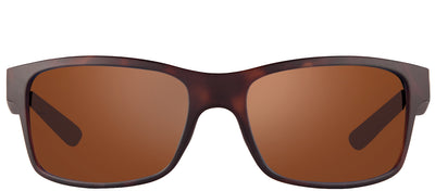 Revo RE 1027 02 GO Rectangle Plastic Tortoise/ Havana Sunglasses with Golf Polarized Lens
