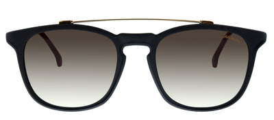 Carrera CA Carrera154 003 HA Rectangle Plastic Black Sunglasses with Brown Gradient Lens