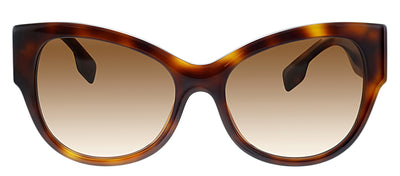 Burberry BE 4294 33163B Butterfly Plastic Havana Sunglasses with Brown Gradient Lens