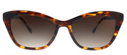 Lilly Pulitzer LP Britta TO Cat-Eye Plastic Tortoise/ Havana Sunglasses with Brown Gradient Lens