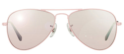 Ray-Ban Junior Jr RJ_9506_211/7E Aviator Metal Pink Sunglasses with Pink Mirror Lens