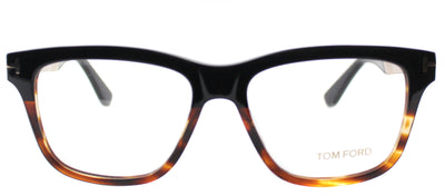 Tom Ford FT 5372 005 Rectangle Metal Black Eyeglasses with Demo Lens