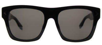 Givenchy GV 7011 807 NR Rectangle Plastic Black Sunglasses with Grey Lens