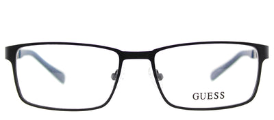 Guess GU 1884 002 Rectangle Metal Black Eyeglasses with Demo Lens