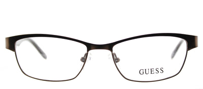 Guess GU 2420 049 Cat-Eye Metal Brown Eyeglasses with Demo Lens