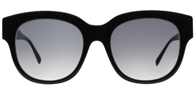 Stella McCartney SC 0007S 001 Square Plastic Black Sunglasses with Grey Gradient Lens