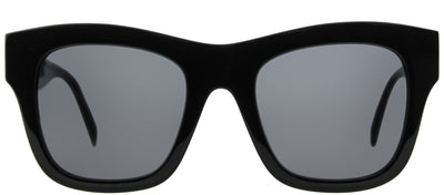 Stella McCartney SC 0011S 001 Square Plastic Black Sunglasses with Grey Lens