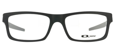 Oakley OX 8026 01 Rectangle Plastic Black Eyeglasses with Demo Lens