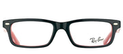 Ray-Ban Junior RY 1535 3573 Rectangle Plastic Black Eyeglasses with Demo Lens