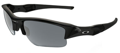 Oakley OO 9009 12-903 Sport Plastic Black Sunglasses with Black Iridium Polarized Lens