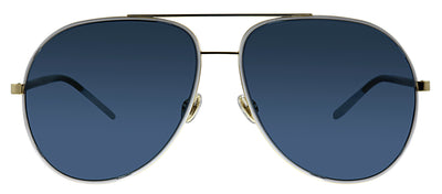 Dior CD Astral B4E KU Aviator Metal Gold Sunglasses with Blue Lens