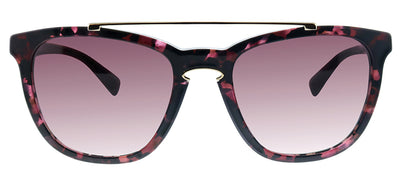 Valentino VA 4002 50328H Square Plastic Purple Sunglasses with Purple Gradient Lens