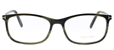 Tom Ford FT 5398 061 Rectangle Plastic Eyeglasses Grey Eyeglasses with Demo Lens