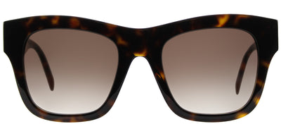 Stella McCartney SC 0011S 002 Square Plastic Tortoise/ Havana Sunglasses with Brown Gradient Lens