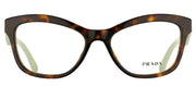Prada PR 29RV 2AU1O1 Cat-Eye Plastic Tortoise/ Havana Eyeglasses with Demo Lens