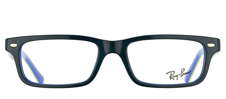 Ray-Ban Junior RY 1535 3600 Rectangle Plastic Grey Eyeglasses with Demo Lens