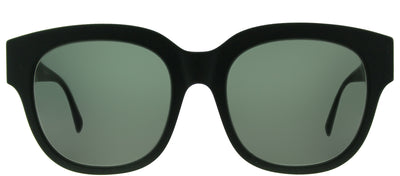 Stella McCartney SC 0007S 004 Square Plastic Green Sunglasses with Green Lens
