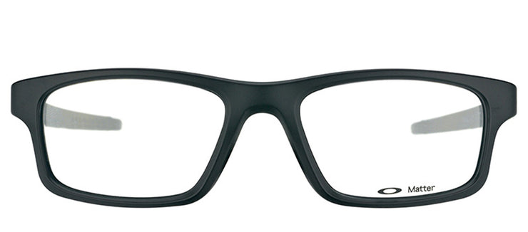 Oakley OX 8037 01 Rectangle Plastic Black Eyeglasses with Demo Lens
