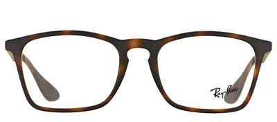 Ray-Ban RX 7045 5365 Rectangle Plastic Tortoise/ Havana Eyeglasses with Demo Lens