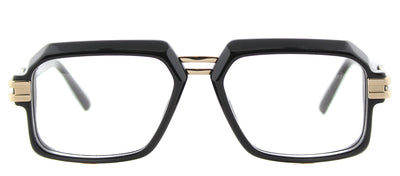 Cazal 6004 001 Rectangle Plastic Black Eyeglasses with Demo Lens