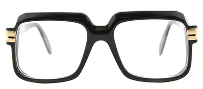 Cazal 607 001 Square Plastic Black Eyeglasses with Demo Lens