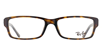 Ray-Ban RX 5169 2012 Rectangle Plastic Tortoise/ Havana Eyeglasses with Demo Lens
