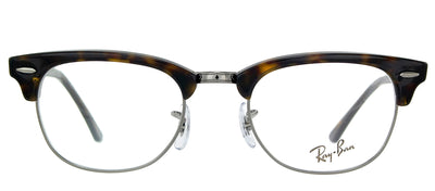 Ray-Ban RX 5154 2012 Clubmaster Plastic Tortoise/ Havana Eyeglasses with Demo Lens