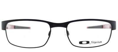 Oakley Carbon Plate OX 5079 01 Rectangle Metal Black Eyeglasses with Demo Lens