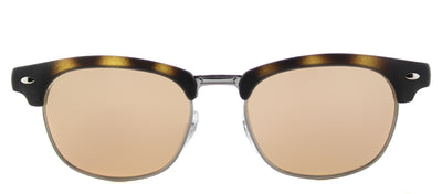 Ray-Ban Junior RJ 9050S 70182Y Clubmaster Plastic Tortoise/ Havana Sunglasses with Pink Flash Lens