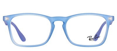 Ray-Ban Junior RY 1553 3668 Square Plastic Blue Eyeglasses with Demo Lens