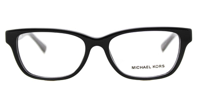Michael Kors MK 4031 3168 Rectangle Plastic Black Eyeglasses with Demo Lens