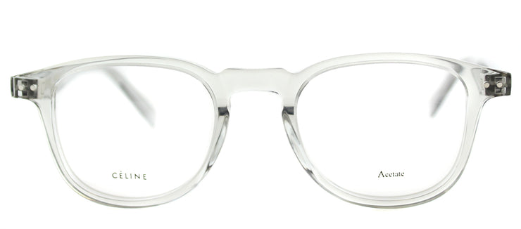 Celine CL 41404 RDN Square Plastic Clear Eyeglasses with Demo Lens