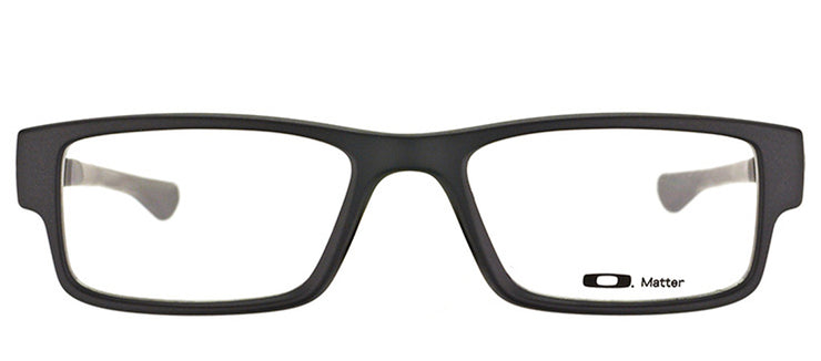 Oakley OX 8046 01 Rectangle Plastic Black Eyeglasses with Demo Lens