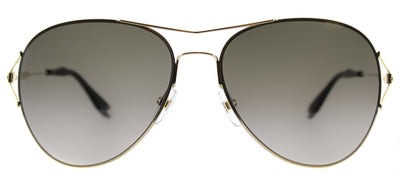 Givenchy GV 7005 J5G Aviator Metal Gold Sunglasses with Brown Gradient Lens