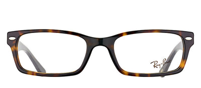 Ray-Ban RX 5206 2012 Rectangle Plastic Tortoise/ Havana Eyeglasses with Demo Lens