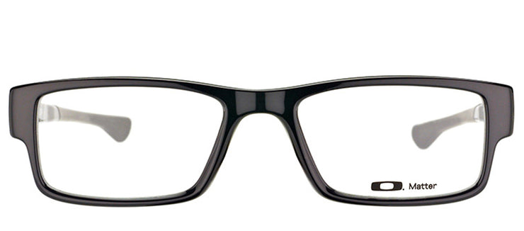 Oakley OX 8046 02 Rectangle Plastic Black Eyeglasses with Demo Lens