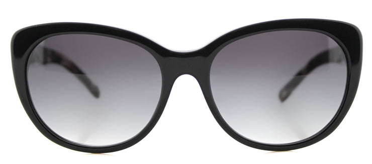 Burberry BE 4224 30018G Cat-Eye Plastic Black Sunglasses with Grey Gradient Lens