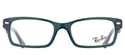 Ray-Ban Junior Jr RY 1530 3667 Square Plastic Blue Eyeglasses with Demo Lens