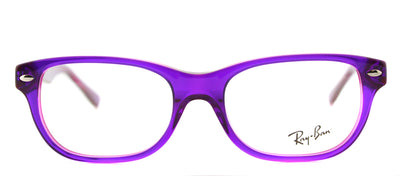 Ray-Ban Junior RY 1555 3666 Rectangle Plastic Purple Eyeglasses with Demo Lens