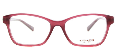 Coach HC 6091B 5398 Square Plastic Black Eyeglasses with Demo Lens